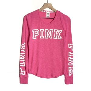 Victoria's Secret PINK Long Sleeve Knit Tee